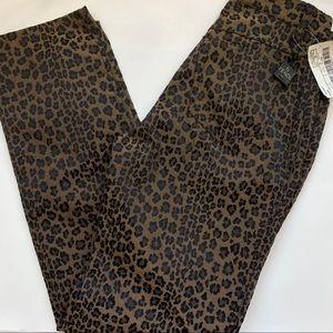 NWT Vintage Deadstock Fendi Leopard Print Pants 29